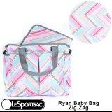 在庫限り【特別価格】【特別価格】【正規品】【LeSportsac/レスポートサック】 7532 / D387 Ryan Baby Bag ライアンベビーバッグ / Zig Zag ジグザグ