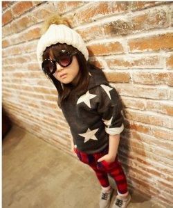 画像1: 【韓国子供服】ビックスター スエット フーディー