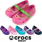 【正規品】Crocs Keeley Girls キーリーガール クロックス キッズ
