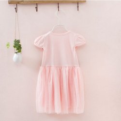 画像4: 【韓国子供服】フワフワ ミニー リボンがポイント ミニーちゃんみたいになれちゃう ワンピース ディズニー /Dress ドレス