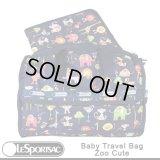 【特別価格】【正規品】【LeSportsac/レスポートサック】 3249/K011 Baby Travel Bag ベビートラベル バッグ / Zoo Cute ズーキュート