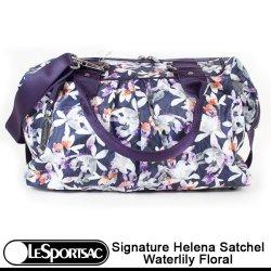 画像1: 【特別価格】【正規品】【LeSportsac/レスポートサック】 2079/ P515 SIGNATURE HELENA SATCHEL シグネチャー ヘレナ サッチェル /Waterlily Floral ウォーターリリーフローラル