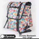 【正規品】【先行販売】【日本未販売】【LeSportsac/レスポートサック】 8147 / D411 Journey Backpack ジャーニーバックパック / Key Largo キーラーゴ