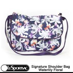 画像1: 【特別価格】【正規品】【LeSportsac/レスポートサック】 2085 / P515 SIGNATURE SHOULDER BAG シグネチャー ショルダーバッグ / Waterlily Floral ウォーターリリーフローラル