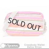 【特別価格】【正規品】【LeSportsac/レスポーサック】 8106 /  D415  Crossbody Wallet  クロスボディ ウォレット / Bahia Stripe バイアストライプ