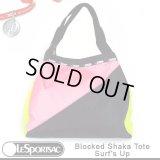【正規品】【LeSportsac/レスポートサック】【先行販売】【日本未販売】 9833 P464 Blocked Shaka Tote ブロックドシャカトート /Surf's Up サーフズアップ 40周年 アニバーサリーコレクション!